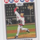 Clay Buchholz Rookie Card 2008 Topps Series 1 #232 Red Sox