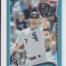 Jeff Keppinger Wal-Mart Blue Parallel 2014 #262 White Sox