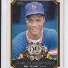 Darryl Strawberry 50 Years Draft Insert 2014 Topps Series 1 #50YD9 Mets