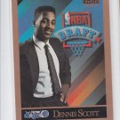 Dennis Scott Rookie Card 1990-91 Skybox #363 Magic