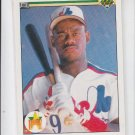 Marquis Grissom Rookie Card 1990 Upper Deck #9 Expos