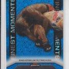 Jon Jones Finest Moments Blue Refractors 2013 Topps UFC Finest #FM19 120/188