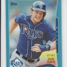 Wil Myers Wal-Mart Blue Parallel 2014 #110 Rays