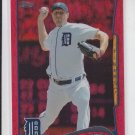 Max Scherzer Red Hot Foil 2014 Topps Series 1 #297 Tigers