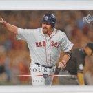 Kevin Youkilis Baseball Card 2008 Upper Deck Series 2 #438 Yankees *ABC