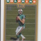 Chad Henne Gold Parallel Rookie Card 2008 Topps Gold #334 Jaguars 1532/2008