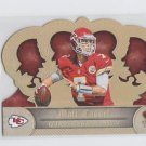 Matt Cassel Gold Parallel Die Cut SP 2012 Panini Crown Royale #146 Chiefs 62/99