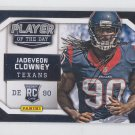 Jadeveon Clowney Player of the Day Promo 2014 Panini #RC11 Texans