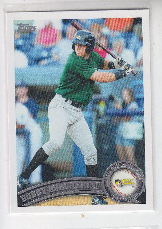 Bobby Borchering Baseball Trading Card 2011 Topps Pro Debut #8 Astros QTY