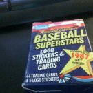 1987 Fleer Limited Edition Baseball Superstars Complete set of 44 Clark Rose