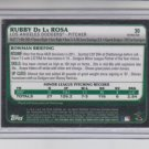 Rubby De La Rosa Refractors RC 2010 Bowman Chrome #30 Red Sox