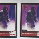 "Undertaker The ""DeadMan"" Rises Silver  & Bronze Lot 2 2013 Topps Best of WWE #94"