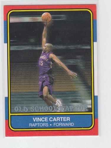 Vince Carter Old School Raptor NNO SP 2000-01 Fleer (Slight chipping)  *BOB