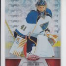 Jaroslav Halak Mirror Red Parallel 2011-12 Panini Certified #108 Blues 002/199