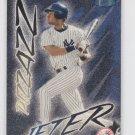 Derek Jeter Pizzazz Baseball Trading Card 1998 Fleer Ultra #481 Yankees