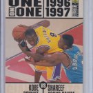Kobe Bryant & Shareef Abdur-Rahim One on One 1996-97 UD Collector's Choice #361