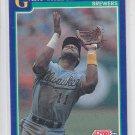 Gary Sheffield Baseball Card 1991 Score #473 Brewers