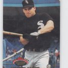 Shawn Abner Baseball Card 1993 Topps Stadium Club #403 White Sox