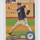 Mat Latos Baseball Card 2011 Topps Series 1 #120 Padres