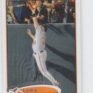 Luke Scott Baseball Card 2012 Topps Series 1 #107 Orioles