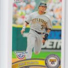 Jose Tabata Baseball Card 2011 Topps Opening Day #161 Pirates