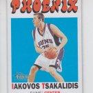 Iakovos Tsakilidis RC SP 2000-01 Topps Heritage #49  Suns 0212/1972