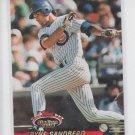 Ryne Sandberg Members Choice Insert 1993 Topps Stadium Club #600 Cubs
