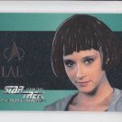 Lal 1995 Skybox Star Trek Next Generation Embossed #S17 *ED