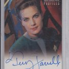 Terry Farrell Autograph Jadzia 1997 Skybox Star Trek Deep Space Nine Profiles A6