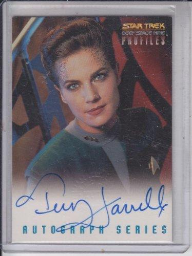 Terry Farrell Autograph Jadzia 1997 Skybox Star Trek Deep Space Nine Profiles A6