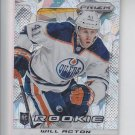 Will Acton Spring Expo Cracked Ice RC 2013-14 Panini Prizm Update #349 Oilers