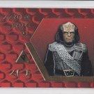 Klingon Sash Embossed Chase Card 1995 Skybox Next Generation #S20  *ED