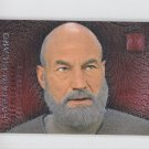 Captain Picard Doppleganger 1996 Skybox Star Trek Phase 1 Trading Card #F6 *ED