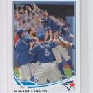 Rajai Davis Mini Exclusives MLB 2013 Topps #311 Blue Jays