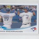 Edwin Encarnacion Mini Exclusvies MLB 2013 Topps #310 Blue Jays
