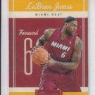 Lebron James Basketball Card 2010-11 Panini Classics #95 Heat