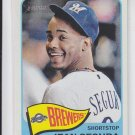 Jean Segura High Numbers SP 2014 Topps Heritage #489 Brewers