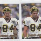 Jamie Asher Season Review Card Lot of (2) 1998 Edge #193 Redskins *BOB