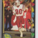 Irving Fryar Football Trading Card 1991 Wild Card #82 Patriots *BOB