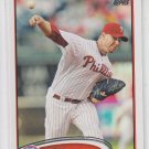 Roy Halladay Baseball Trading Card 2012 Topps #150 Phillies