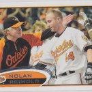 Nolan Reimold Baseball Trading Card 2012 Topps #176 Orioles