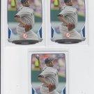 CC Sabathia Baseball Card Lot of (3) 2013 Bowman #5 Yankees