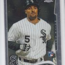 Marcus Semien RC Baseball Trading Card 2014 Topps Finest #43 White Sox