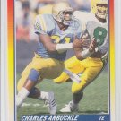 Charles Arbuckle Rookie Card 1990 Score #639