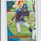 Knoshown Moreno Football Trading Card 2010 Topps #53 Broncos Dolphins