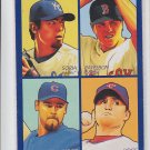 Soria Papelbon Lidge Wood 4 in 1Blue 2009 UD Goudey #35-49 Red Sox Indians