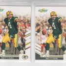 Brett Favre Football Card Lot (2) 2007 Score #53 Packers