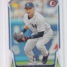 Derek Jeter Baseball Trading Card 2014 Bowman #1 Yankees