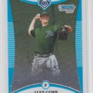 Alex Cobb 1st Prospect Card 2008 Bowman Chrome #BCP44 Rays