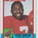 Rodney Hampton Rookie Card 1990 Topps #48 Giants
